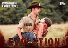 RICK GRIMES (Andrew Lincoln) Walking Dead Evolution BROWN PARALLEL Base Card #2