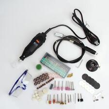 142pcs Mini Electric Drill Rotary Tool DIE Grinder Power Tools Kit 110V US Plug