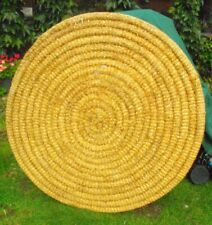 ARCHERY COILED TARGET BOSS STRAW 128CM