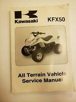 2007 KFX50 Vehicle Service Shop Manual Book tune-up repair maintenance