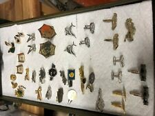 New listing Vintage Lot of Cufflinks and Tie Clips