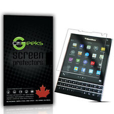 CitiGeeks® BlackBerry Passport Screen Protector Anti-Glare Matte Shield [3-Pack]