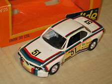 SOLIDO #25 BMW 30 CSL WHITE DIE CAST NEW FACTORY BOXED 1:43 MODEL CAR / Offer?
