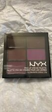 NYX Cosmetics Pro Lip Cream 6 Shades Palette Lipcolor PLCP04 The Plums sealed
