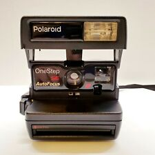 Polaroid OneStep SE Auto Focus 600 Film Camera Digital Exposure System w/ Strap