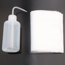 250ML Tattoo Diffuser Green Soap Wash Squeeze Bottle + 100Pcs Wash Bottle Bags