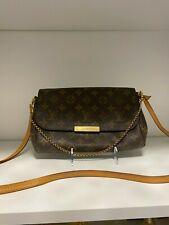 Authentic Louis Vuitton Favorite MM M40718 LV Monogram Shoulder Bag
