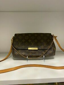 Authentic Louis Vuitton Favorite MM M40718 LV Monogram Shoulder Bag