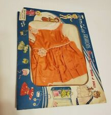 "Vintage Terri Lee Taffeta Dress in Original Unopened Package for 16"" Doll"