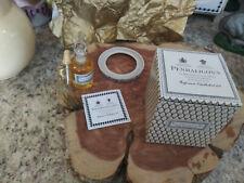 rare-new in box-penhaligon ninevah-lamp ring and oil-bottle has wire gold tassel