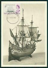 Tristan da Cunha Mk 1967 barcos ship maximum tarjeta Carte maximum card mc cm ci51