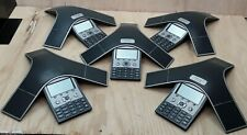 LOT of 5 Cisco CP-7937G VoIP Conference Station Phone 2201-40100-001