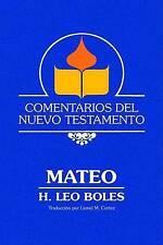 NEW Comentarios del Nuevo Testamento - Mateo (Lam Case) (Spanish Edition)