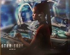 Zoe Saldana Signed 10x8 Photo - Star Trek