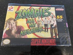 Zombies ate my Neighbors Ntsc Snes! Sealed! brand new!! 100% Original! Vga