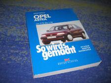 Opel Astra 1991-98 Reparaturanleitung So wirds gemacht Handbuch warten pflegen
