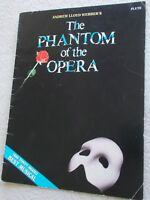 Phantom of Opera 9 Songs Arranged Flute Solo Unmarked