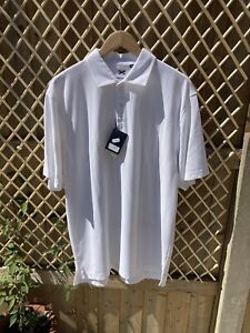 Murray Golf Performance Polo Shirt, White, Size Extra Large, BNWT