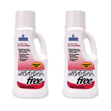 Natural Chemistry Metal-Free Pool Chemical 2 Pack x  1 Liter Prevent Stains