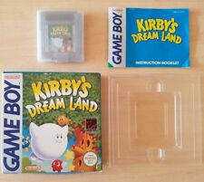 NINTENDO GAME BOY - KIRBY'S DREAM LAND COMPLETE BOX + MANUAL CIB *RARE* Gameboy