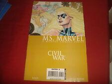 MS. MARVEL #7 Civil War   Marvel Comics 2006  NM