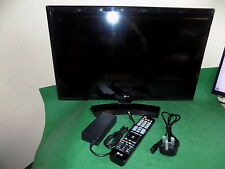 LG LCD TV Television HDMI Flat Screen LED 24MT48DF Black DVB Gaming Monitor 24""