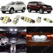 13x White LED lights interior package kit 2007-2012 Mercedes GL-Class +Tool MG1W