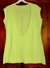 New Green Low Neck Beach Top Size 14/16
