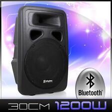 PA Lautsprecher Box Aktiv Verstärker Subwoofer Soundsystem Bluetooth MP3 1200 W