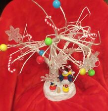 LED Lighted and Musical Tree With Snowmen