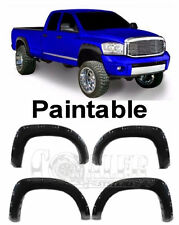 4pc Set Fender Flares fit Dodge Ram 02-08 15/2500/35 Pocket Rivet Style Textured