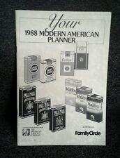 The American Tobacco Company 1988 Modern American Planner