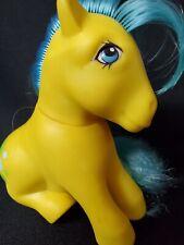 1982 My Little Pony MLP G1 Bubbles Yellow Blue