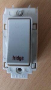 Crabtree 20A DP Grid Switch `Fridge`
