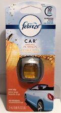 Febreze Car Vent Clip - Fresh Fall PUMPKIN  Scent