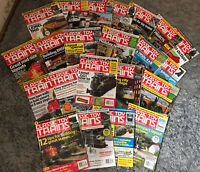 Lot Of 22 Classic Toy Trains Magazines