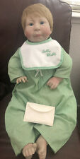 """Vintage Lee Middleton Forget-Me-Not """"Bubba Chubbs"""" 1986 Baby Doll ~ 21"""""""