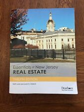 Essentials of New Jersey Real Estate Textbook, 12th Edition by Edith Lank