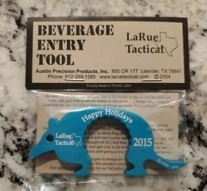 LaRue Tactical Beverage Entry Tool Happy Holidays 2015 Dillo New!!