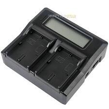 Digital LCD Quick Dual Charger for Canon LP-E6 Battery 80D 5D Mark IV 5D4 6D 7D2