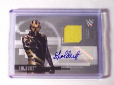 2017 Topps WWE Undisputed Silver Autograph Relic Jersey Goldust /50 WWF TNA Auto