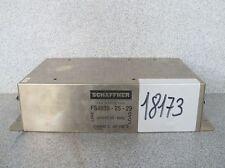 Schaffner FS4835-25-29 Netzfilter Spannungs Filter 440VAC 50-60Hz  #19173