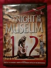2 Dvd set-Night at the Museum 1 & 2, family fun new- never watched, both rated G