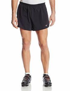 Pearl Izumi Men's 2XL Fly Split Running Shorts, Black