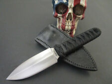 Custom Wally Hayes MS Boot Dagger Forged EDC Self Defense Combat Tactical Fight