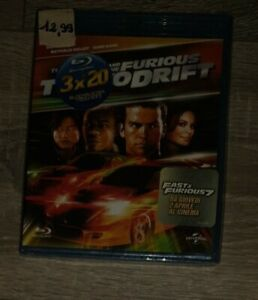 THE FAST AND THE FURIOUS - TOKYO DRIFT - 2006 - BLU-RAY nuovo sigillato