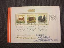 Österreich 1982/illustr.FDC Michel-Nr.1717-1719(1x)+St.9.9.82 Graz/echt gelaufen