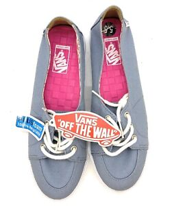 Vans Off the Wall Womens Palisades SF Blue Shoes 5.5 New with Tag