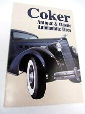 Coker Antique & Classic Automobile Tires Brochure - 1980s