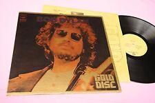 BOB DYLAN LP GOLD DISC ORIG JAPAN INNER AND BOOKLET